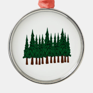FOREST FOUNDERS METAL ORNAMENT