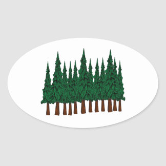 FOREST FOUNDERS OVAL STICKER