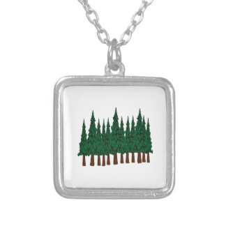 FOREST FOUNDERS SILVER PLATED NECKLACE