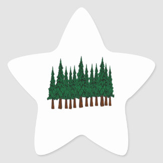 FOREST FOUNDERS STAR STICKER
