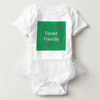 Forest friendly Tutu baby suit Baby Bodysuit