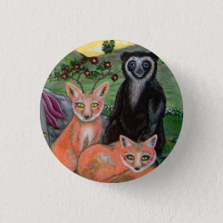 Forest Friends 1 Inch Round Button