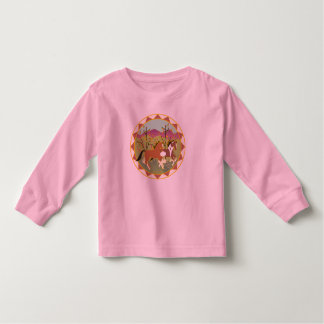 Forest Frolic Longsleeve Toddler T-shirt