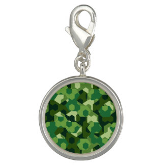 Forest geometric camouflage charm