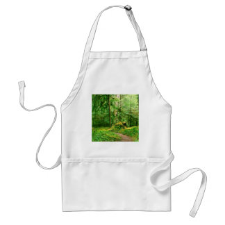 Forest Gray Wolf River Trail Olympic Standard Apron