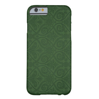 Forest Green Damask iPhone 6 case Barely There iPhone 6 Case