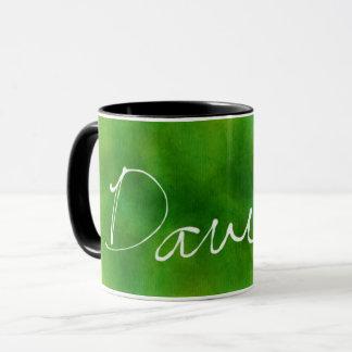 Forest Green David Mug