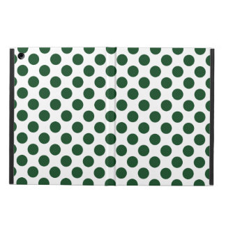 Forest Green Polka Dots Cover For iPad Air