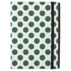 """Forest Green Polka Dots iPad Pro 12.9"""" Case"""