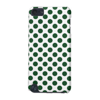 Forest Green Polka Dots iPod Touch (5th Generation) Cases