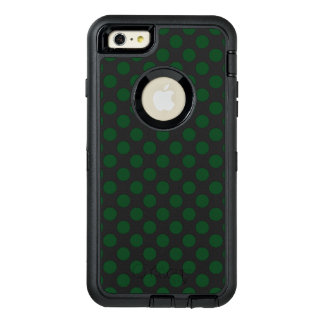 Forest Green Polka Dots OtterBox iPhone 6/6s Plus Case