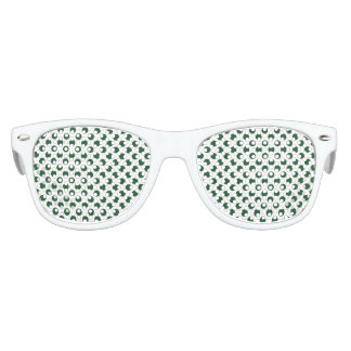 Forest Green Polka Dots Party Shades
