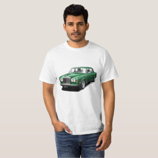 Forest Green Rolling Royal classic car t-shirt