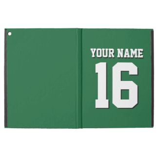 Forest Green Sporty Team Jersey