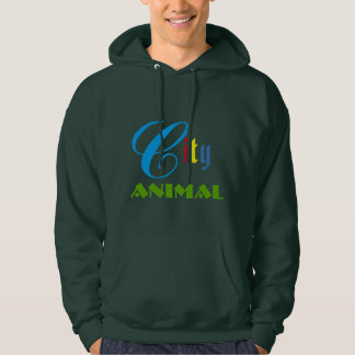 Forest Green Warm Men's Youths Hooded Sweatshirts