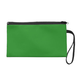 Forest Green Wristlet