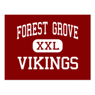 Forest Grove - Vikings - High - Forest Grove Postcard
