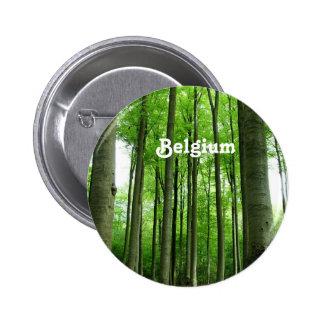 Forest in Belgium Pinback Button