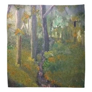Forest in Oils Bandana