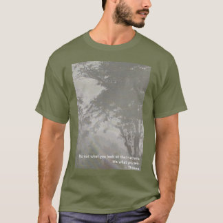 Forest in the mist T-Shirt