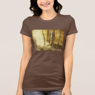 Forest in Watercolor and Ink Women's Tee