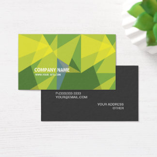 Forest Inspiration Modern Elegant Company Business Card