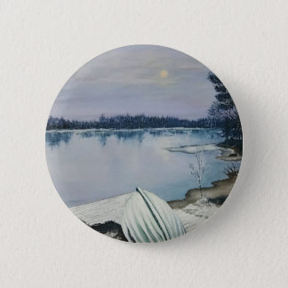 Forest lake 2 inch round button
