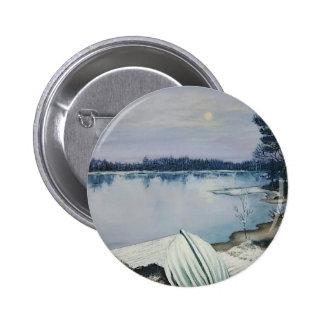 Forest lake 2 inch round button