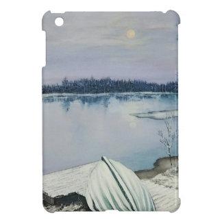 Forest lake iPad mini cover