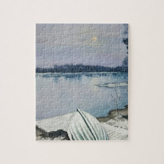 Forest lake jigsaw puzzle
