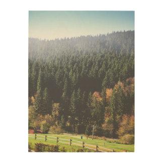 "Forest Land 18""x24"" Wood Wall Art"