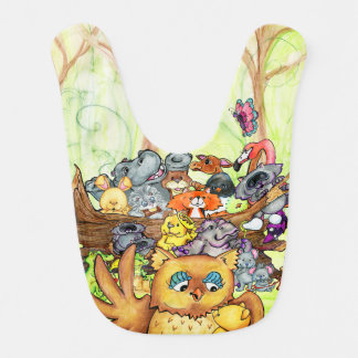 Forest Lesson Baby Bib