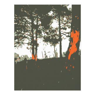 Forest Letterhead