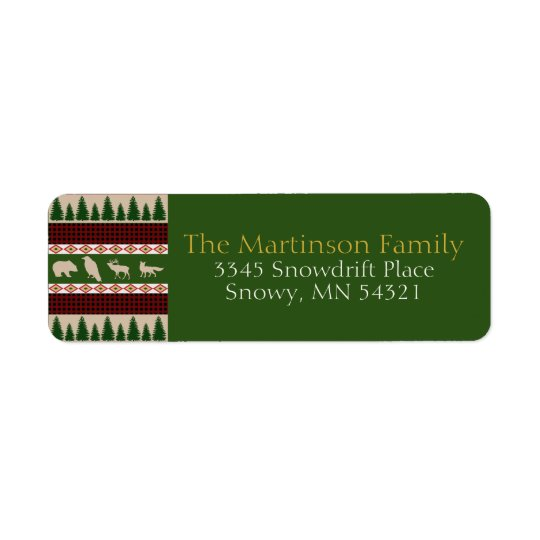 Forest Lodge Rustic Woodland Christmas