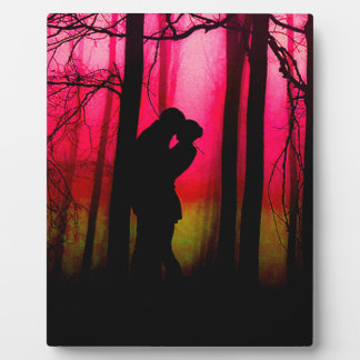 Forest Lovers Plaque