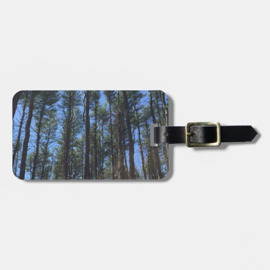 Forest Luggage Tags