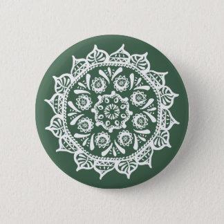 Forest Mandala 2 Inch Round Button