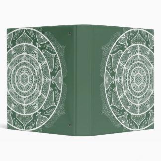 Forest Mandala Binder