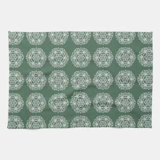 Forest Mandala Kitchen Towel