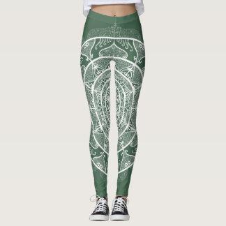 Forest Mandala Leggings