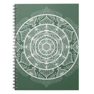 Forest Mandala Notebook