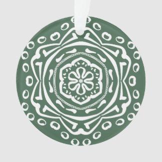 Forest Mandala Ornament