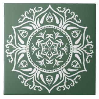 Forest Mandala Tile