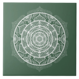 Forest Mandala Tile