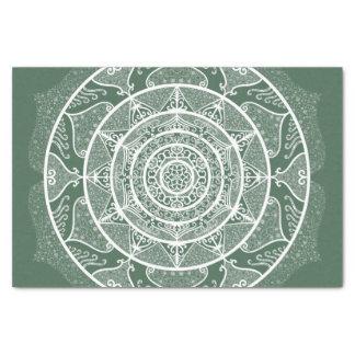 Forest Mandala Tissue Paper