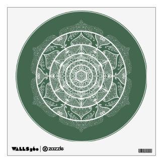 Forest Mandala Wall Decal