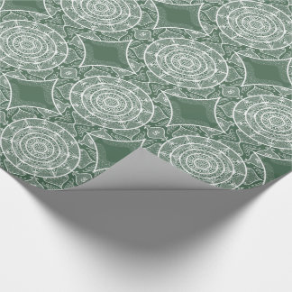 Forest Mandala Wrapping Paper