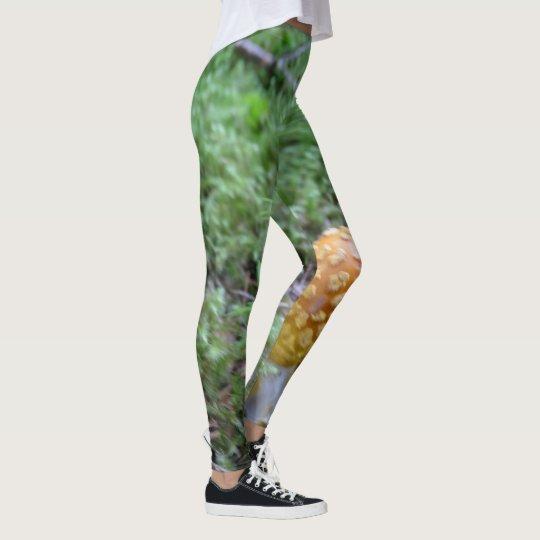 Forest Mushroom Leggings