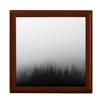Forest Nature Landscape Scene Foggy Mystical Gift Box