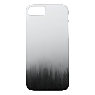 Forest Nature Landscape Scene Foggy Mystical iPhone 8/7 Case